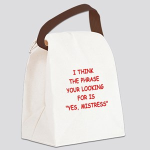 mistress Canvas Lunch Bag